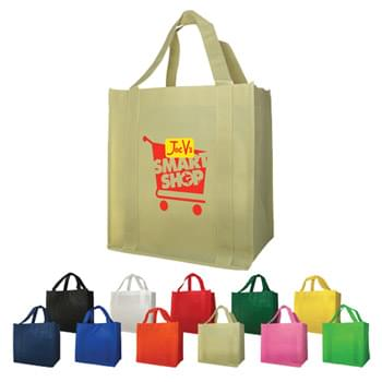 "Bags - Non-Woven (12""W x 13""H x 8""D) Shopping Tote Bags"
