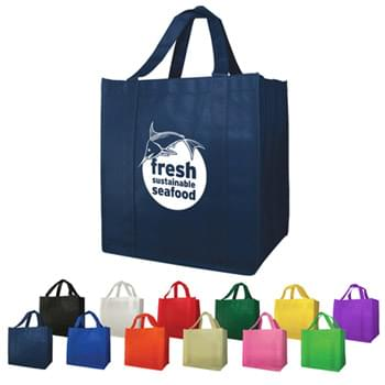 "Bags - Non-Woven (13""W x 15""H x 10""D) Shopping Tote Bags"
