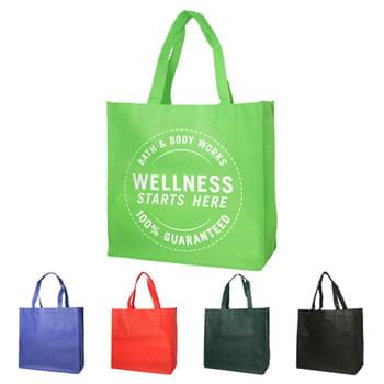 "Bags - Non-Woven (13""W x 13""H x 5""D) Shopping Tote Bags"