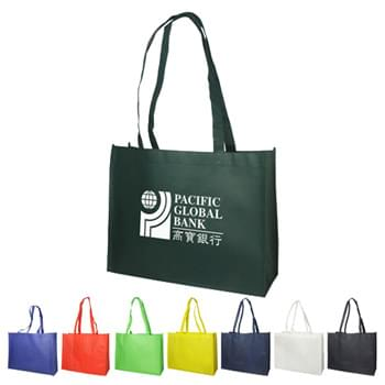 "Bags - Non-Woven (16""W x 12""H x 6""D) Shopping Tote Bags"