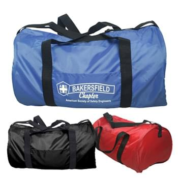 Duffel Bag - Polyester Gym Barrel Bag