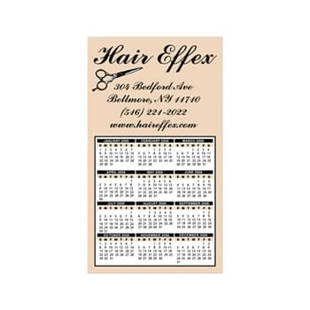 "Calendar Magnet - 4""x7"" Magnetic Calendar Custom Imprinted Magnets - 20mil"