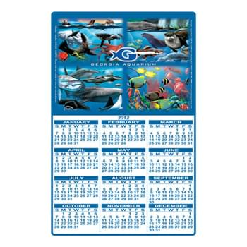 "Rectangle Shape Custom Printed Calendar Sheets (11""X17"")"