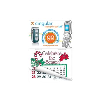Cell phone Shape Calendar Pad Sticker W/ Tear Away Calendar