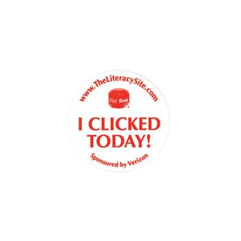 "Lapel Sticker-Round Lapel Decal Stickers (1 3/4"")"