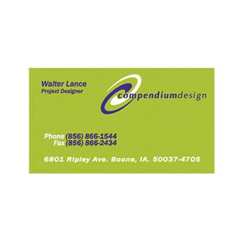"Business Card (2"" X 3.5"")"