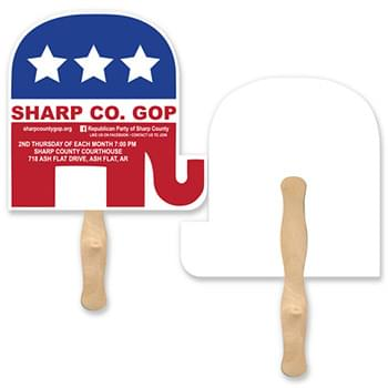 Lightweight Elephant Shape Hand Fan