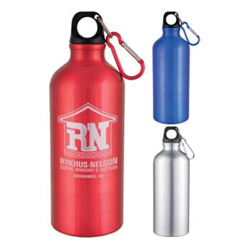 Sports Bottle - 20 Oz Aluminum Sports Bottle With Twist Off Lid
