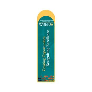 "Bookmark - 2""X8"" Round Top Custom Printed Bookmarks"