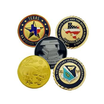 "1.5"" No Color Challenge Coin"