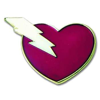 "1 1/8"" Color Filled Soft Enamel Lapel Pins"