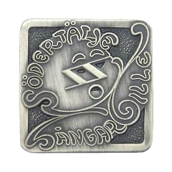 "7/8"" Die Struck Lapel Pins - No Coloring"