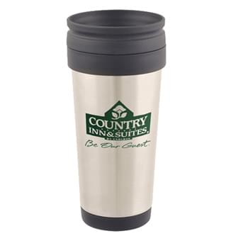 Mugs - 17 Oz. Stainless Steel Custom Printed Travel Mug