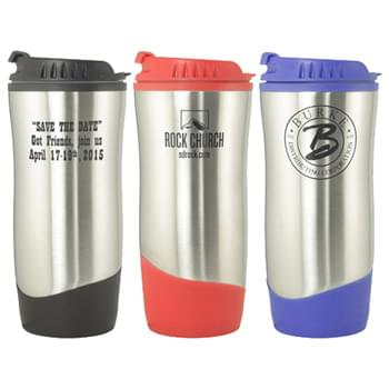 16 OZ Hourglass shape stainless steel travel mug
