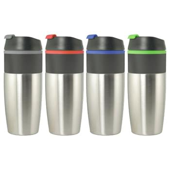 Mugs - 16 Oz stainless steel travel mug