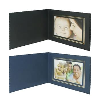 "Deckle Edge Frame/Certificate Holder for 6"" x 4"" Photo"