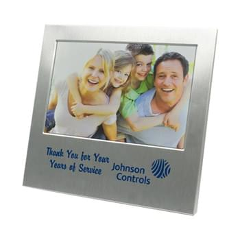 "Photo Frame - Aluminum Picture Frame for 4""x6"" Photo"