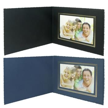 "Deckle Edge Frame/Certificate Holder for 7"" x 5"" Photo"