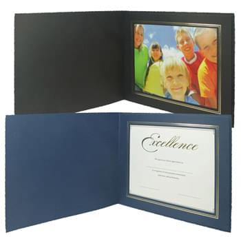 "Deckle Edge Frame/Certificate Holder for 8"" x 10"" Photo"