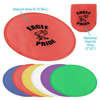 "9.75"" Pop-up Flying Disc w/ Pouch"