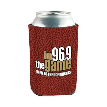 Beverage Insulator Full Color Neoprene Can Coolie - 3 Side Full Color Imprint Included!