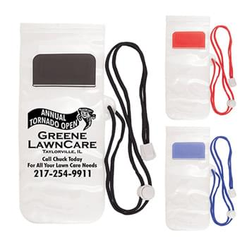 Phone Pouch with Lanyard