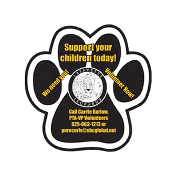 "11.5"" Paw Vehicle Auto Magnet"