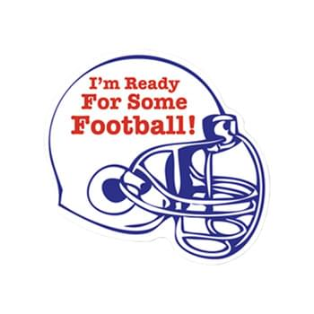 "10"" X 12"" Football Helmet Vehicle Auto Magnet"