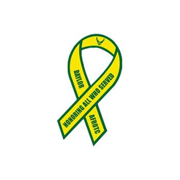 "2"" X 4"" Awareness Ribbon Shape Vehicle Magnet"